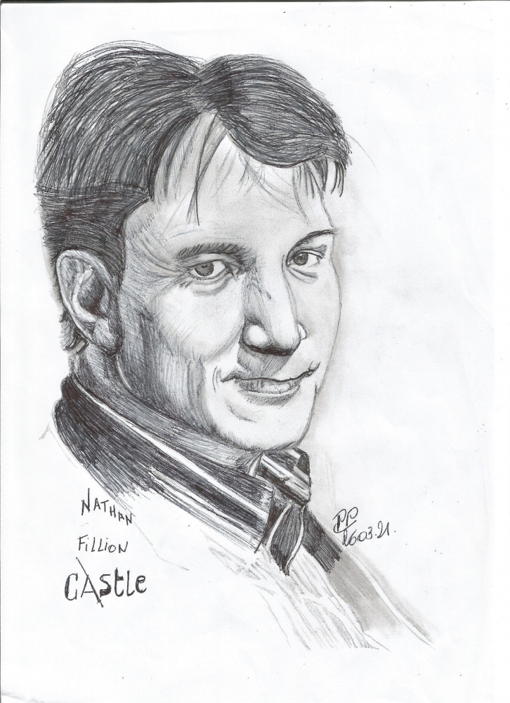 Nathan Fillion by Patoux